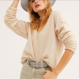 Free People Forever Cashmere Sweater